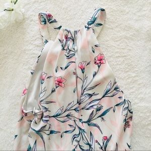 Express Dresses - Express Garden Floral Fit And Flare Dress